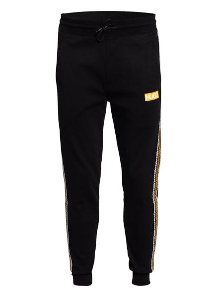 HUGO Sweatpants DONBURI mit Galonstreifen, Farbe: SCHWARZ (Bild 1)