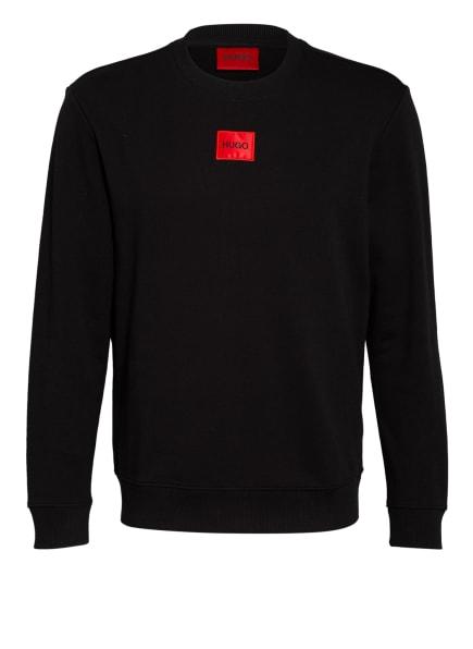 HUGO Sweatshirt DIRAGOL, Farbe: SCHWARZ (Bild 1)