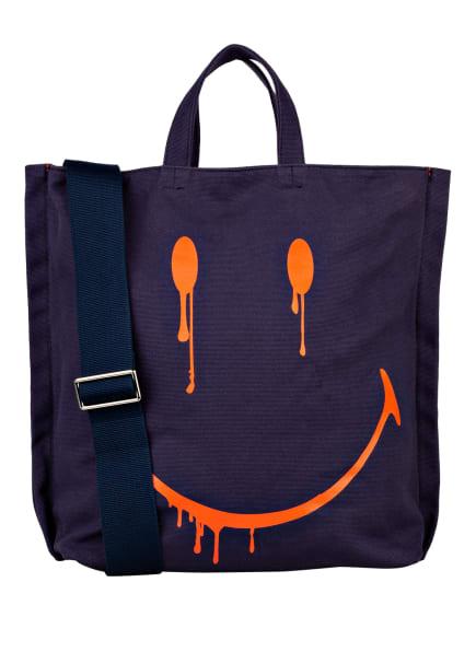 STEFFEN SCHRAUT Shopper SMILEY, Farbe: DUNKELBLAU (Bild 1)