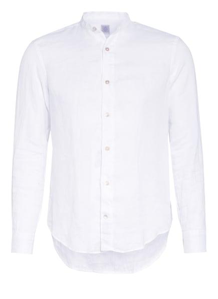 eleventy Leinenhemd Slim Fit, Farbe: WEISS (Bild 1)