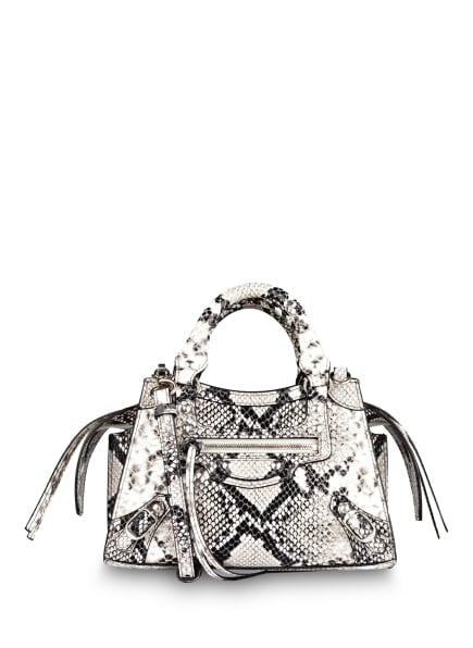 BALENCIAGA Handtasche NEO CLASSIC MINI, Farbe: WEISS/ SCHWARZ (Bild 1)