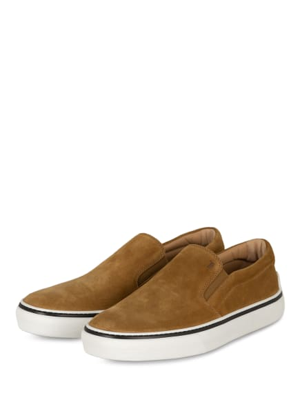 TOD'S Slip-on-Sneaker CASSETTA, Farbe: HELLBRAUN (Bild 1)