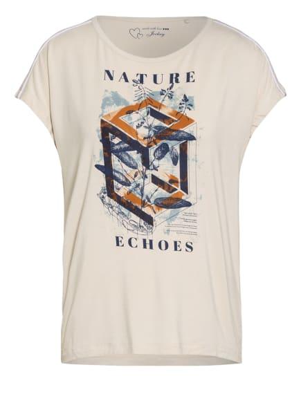 JOCKEY Lounge-Shirt, Farbe: BEIGE/ DUNKELBLAU/ COGNAC (Bild 1)