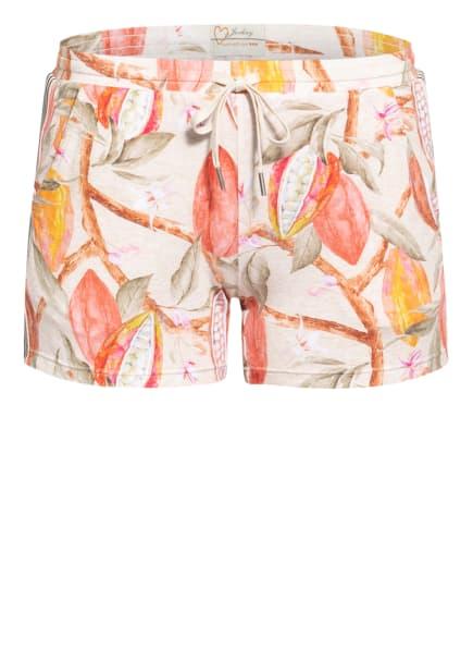 JOCKEY Lounge-Shorts , Farbe: BEIGE/ HELLROT/ OLIV (Bild 1)