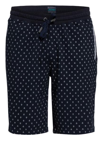 JOCKEY Lounge-Shorts, Farbe: DUNKELBLAU/ WEISS (Bild 1)