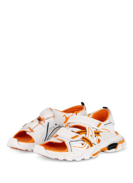 BALENCIAGA Sandalen TRACK, Farbe: WEISS/ ORANGE/ SCHWARZ (Bild 1)