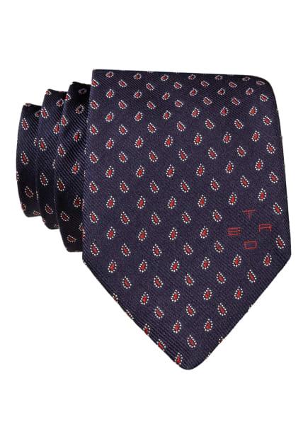 ETRO Krawatte, Farbe: DUNKELBLAU/ DUNKELROT/ WEISS (Bild 1)