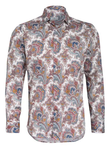 ETRO Hemd Slim Fit, Farbe: WEISS/ DUNKELROT/ PETROL (Bild 1)
