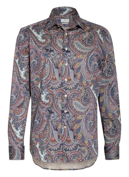 ETRO Hemd Regular Fit, Farbe: DUNKELBLAU/ DUNKELROT/ MINT (Bild 1)