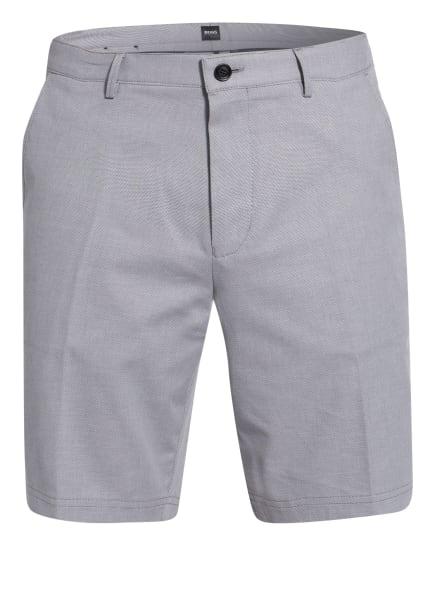 BOSS Chino-Shorts SLICE Slim Fit, Farbe: GRAU/ WEISS (Bild 1)