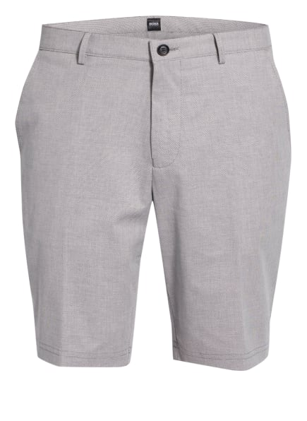 BOSS Chino-Shorts SLICE Slim Fit, Farbe: DUNKELBLAU/ WEISS (Bild 1)