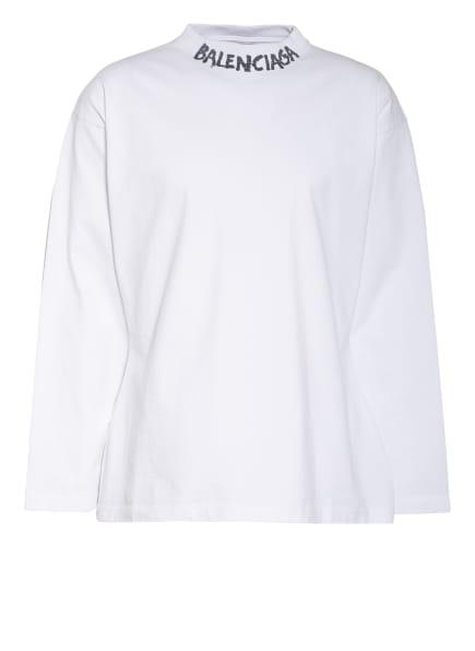 BALENCIAGA Oversized-Longsleeve, Farbe: WEISS (Bild 1)