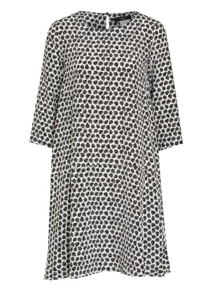 WEEKEND MaxMara Kleid FISCHIO mit 3/4-Arm, Farbe: WEISS/ SCHWARZ (Bild 1)
