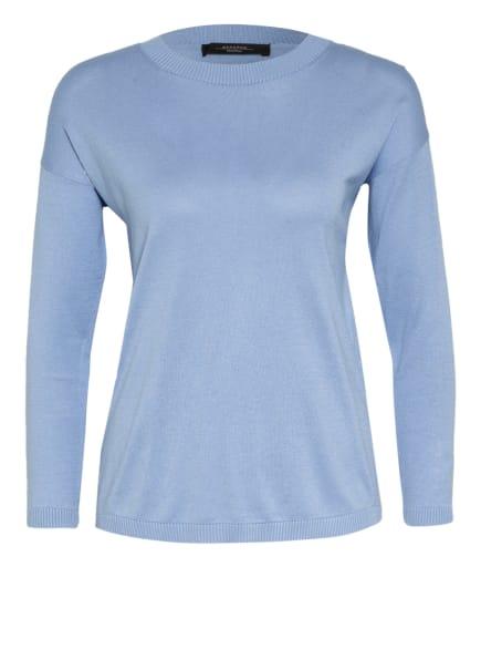 WEEKEND MaxMara Pullover SIBARI mit Seide, Farbe: HELLBLAU (Bild 1)