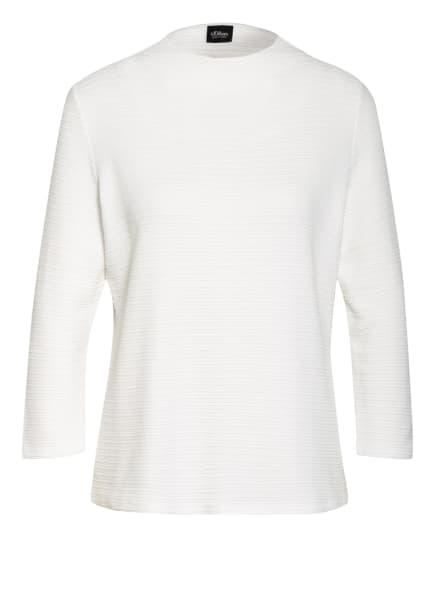 s.Oliver BLACK LABEL Shirt mit 3/4-Arm, Farbe: WEISS (Bild 1)