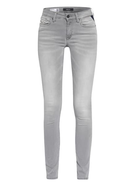 REPLAY Skinny Jeans NEW LUZ HYPERFLEX, Farbe: 095 SUPER LIGHT GREY (Bild 1)
