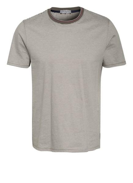 TED BAKER T-Shirt SPENCA, Farbe: OLIV/ WEISS (Bild 1)