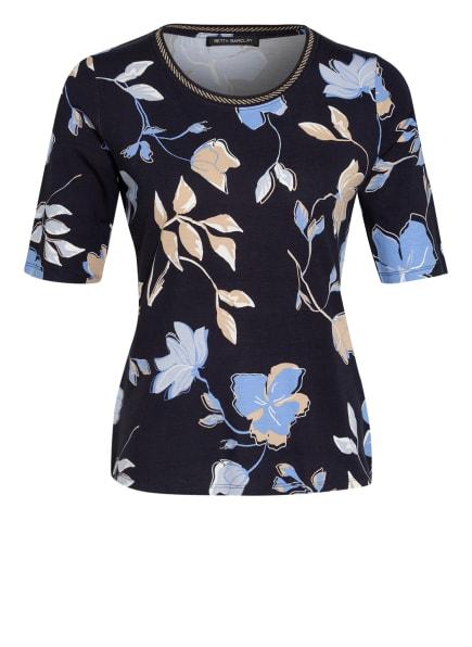 Betty Barclay T-Shirt , Farbe: DUNKELBLAU/ HELLBLAU/ BEIGE (Bild 1)