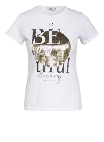 DEHA T-Shirt, Farbe: WEISS/ GOLD (Bild 1)