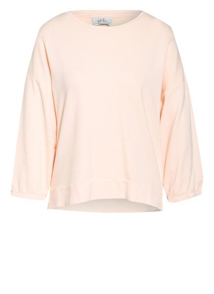 DEHA Sweatshirt mit 3/4-Arm, Farbe: HELLORANGE (Bild 1)