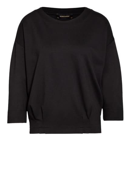 MORE & MORE Sweatshirt mit 3/4-Arm, Farbe: SCHWARZ (Bild 1)