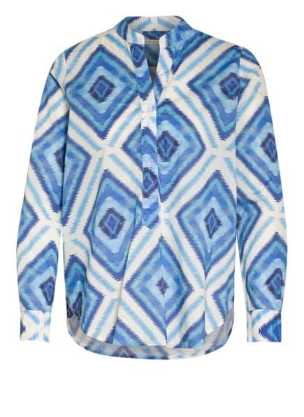lilienfels Blusenshirt , Farbe: HELLBLAU/ BLAU/ WEISS (Bild 1)