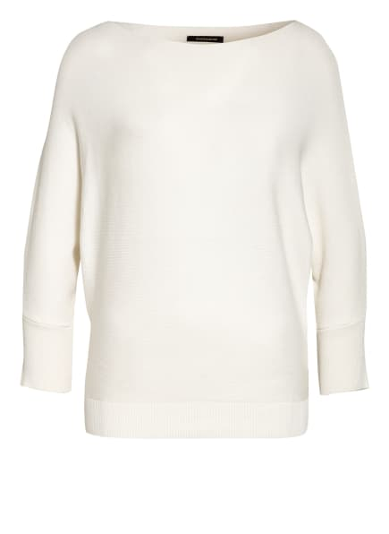 MORE & MORE Pullover mit 3/4-Arm, Farbe: WEISS (Bild 1)