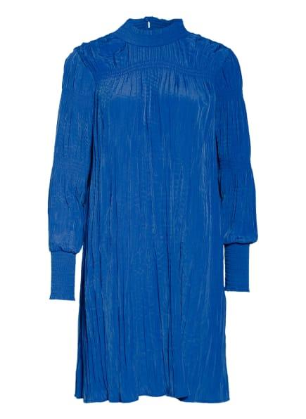 NORR Plisseekleid WILDER, Farbe: BLAU (Bild 1)