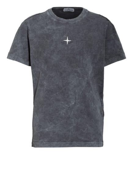 STONE ISLAND JUNIOR T-Shirt, Farbe: DUNKELGRAU (Bild 1)