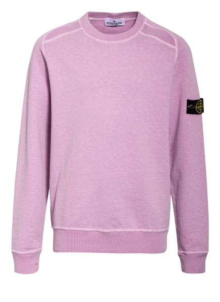 STONE ISLAND JUNIOR Sweatshirt, Farbe: HELLLILA (Bild 1)
