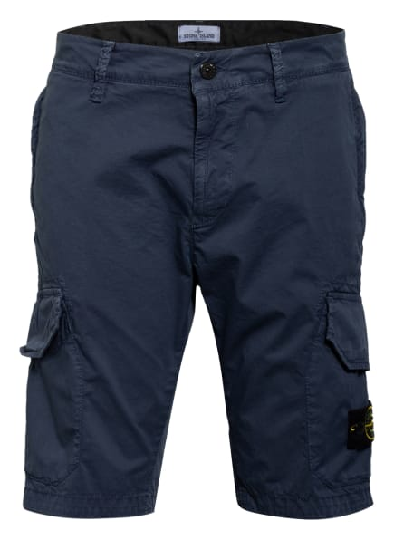 STONE ISLAND JUNIOR Cargo-Shorts, Farbe: V0128 bleu (Bild 1)