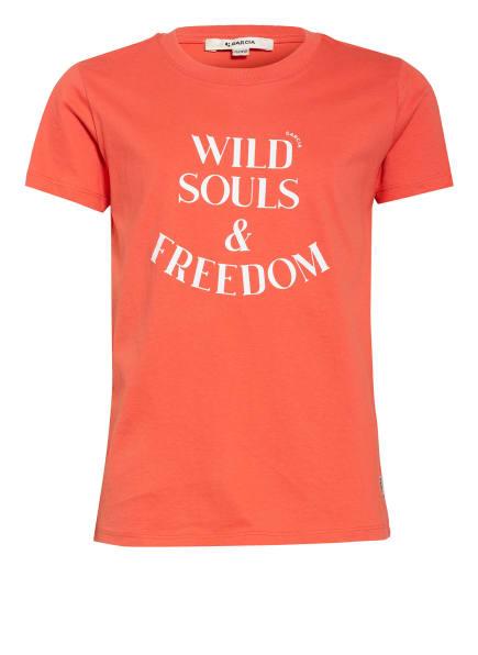 GARCIA T-Shirt , Farbe: ROT/ WEISS (Bild 1)