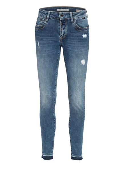 mavi Skinny Jeans ADRIANA, Farbe: 32678 mid distressed glam (Bild 1)