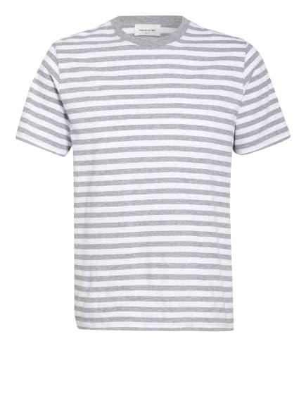WOOD WOOD T-Shirt SAMI, Farbe: WEISS/ GRAU (Bild 1)