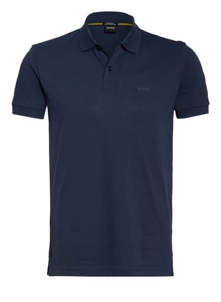BOSS Piqué-Poloshirt PIRO Regular Fit , Farbe: DUNKELBLAU (Bild 1)