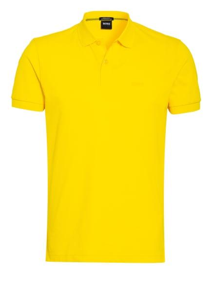 BOSS Piqué-Poloshirt PIRO Regular Fit , Farbe: GELB (Bild 1)