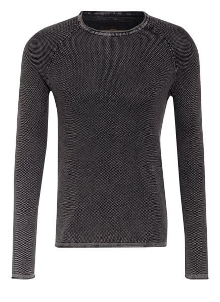 KEY LARGO Pullover THOMAS, Farbe: DUNKELGRAU (Bild 1)