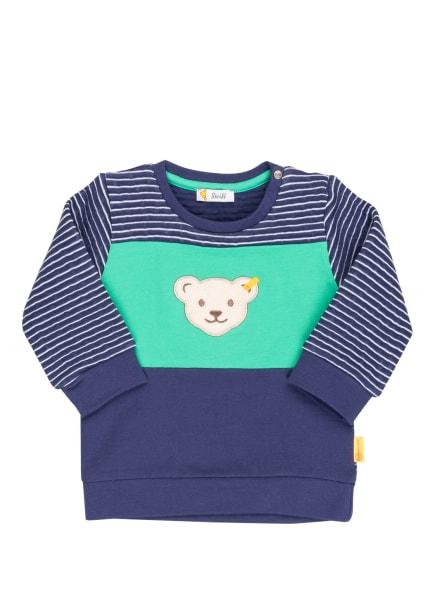 Steiff Sweatshirt, Farbe: BLAU/ WEISS/ GRÜN (Bild 1)