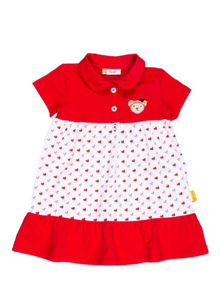Steiff Kleid, Farbe: ROT/ WEISS (Bild 1)