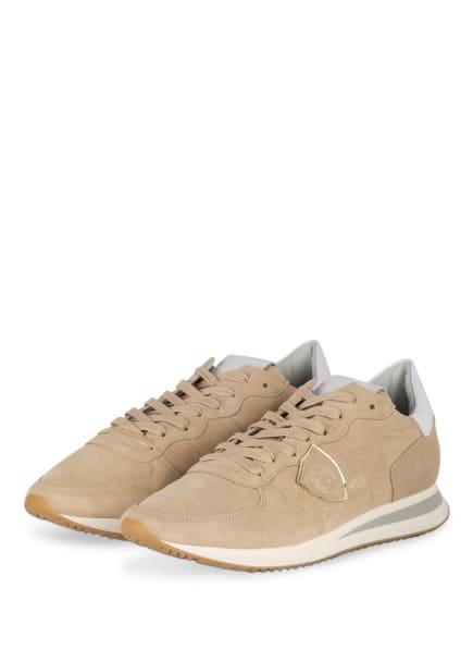PHILIPPE MODEL Sneaker TRPX DAIM, Farbe: BEIGE (Bild 1)