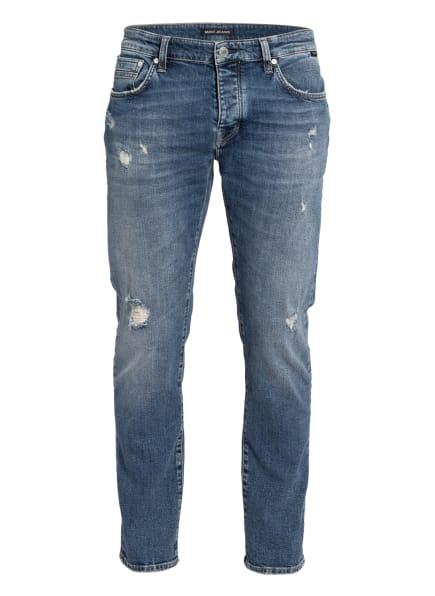 mavi Jeans YVES Slim Skinny Fit, Farbe: 33153 mid used ripped comfort (Bild 1)