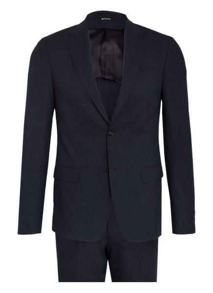 ZZegna Anzug DROP 8 Extra Slim Fit, Farbe: DUNKELBLAU (Bild 1)