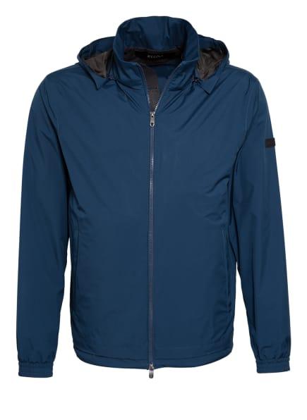 ZZegna Jacke mit abnehmbarer Kapuze, Farbe: BLAU (Bild 1)