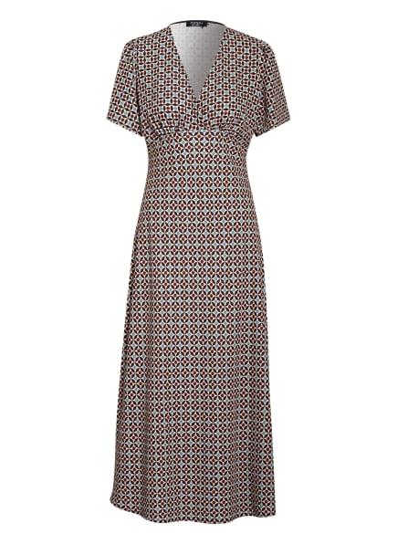 ANNA's Kleid, Farbe: SCHWARZ/ BEIGE/ DUNKELLILA (Bild 1)