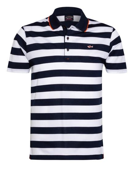 PAUL & SHARK Piqué-Poloshirt, Farbe: DUNKELBLAU/ WEISS (Bild 1)