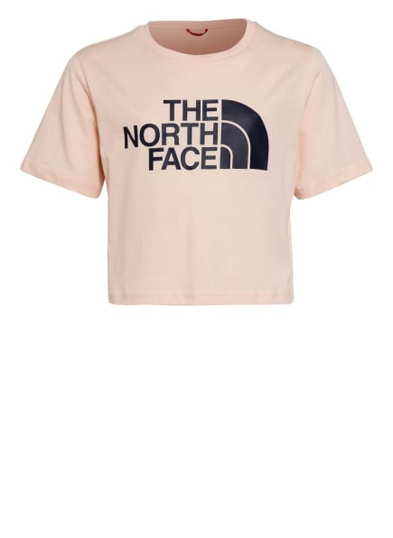THE NORTH FACE Cropped-Shirt , Farbe: NUDE (Bild 1)