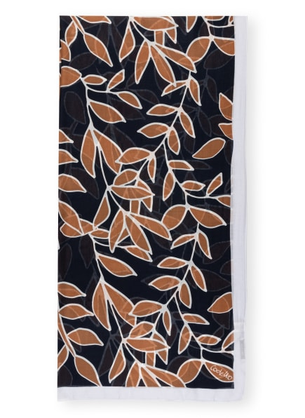 CODELLO Schal, Farbe: HELLGRAU/ BRAUN/ DUNKELBLAU (Bild 1)