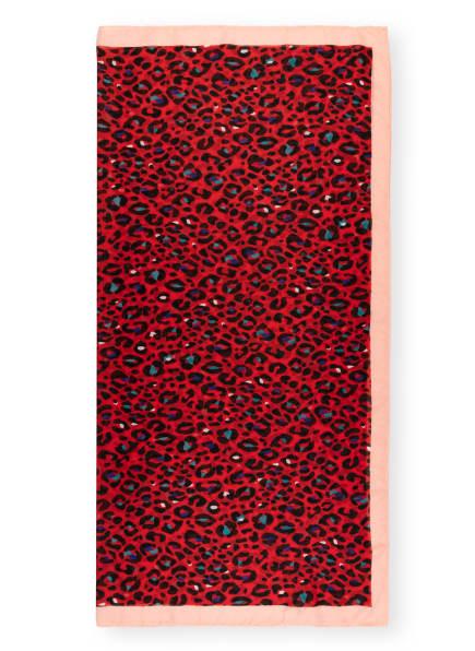 CODELLO Tuch, Farbe: ROT/ SCHWARZ/ LACHS (Bild 1)