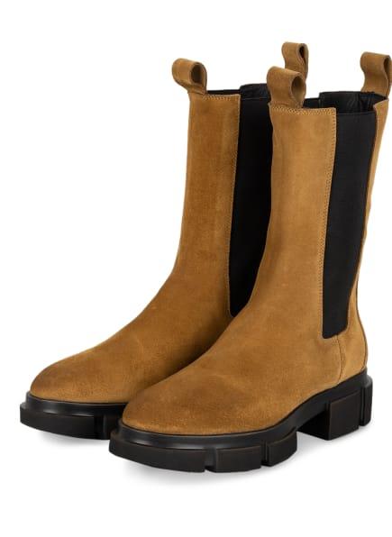 COPENHAGEN Chelsea-Boots CROSTA, Farbe: CAMEL (Bild 1)