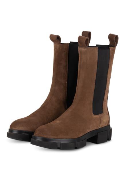 COPENHAGEN Chelsea-Boots CROSTA, Farbe: HELLBRAUN (Bild 1)